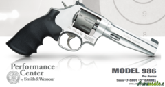 Smith & Wesson 986 Pro-Series 9x21mm IMI