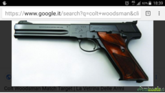 Colt Woodsman .22 LR Long Rifle