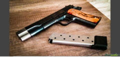 Norinco 1911 cal 45 mod THE PUNISHER - M1A1 TIPO COLT Governament Kimber