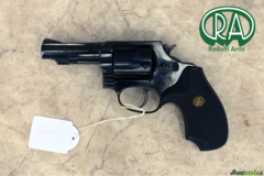 Revolver Smith e Wesson modello 36 cal 38 special canna 3'' guance in gomma