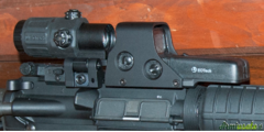 EOTECH HOLOGRAFIC SYSTEM 512-A65 + EOTECH G33 MOLTIPLICATORE 3X
