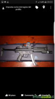 Mp5 mke t94 in 9x21